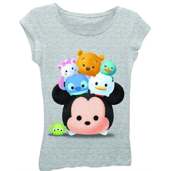 DISNEY TSUM TSUM GIRL/'S T-shirt